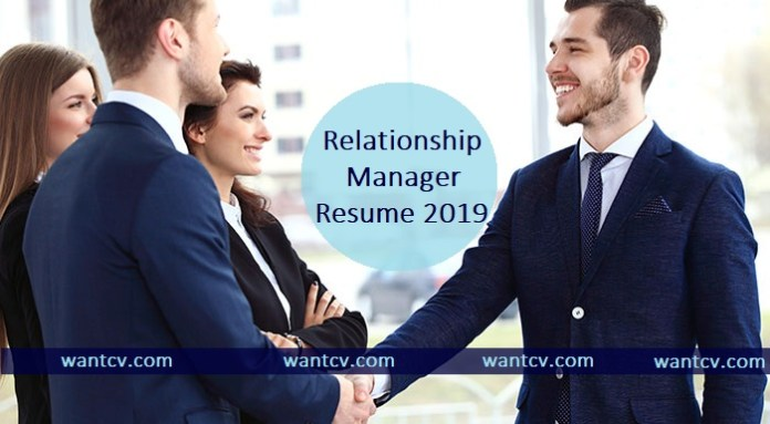 Latest 5 Relationship Manager Resume PDF & Word Format, Wantcv.com