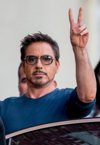Robert Downey- 3rd Highest paid actor
