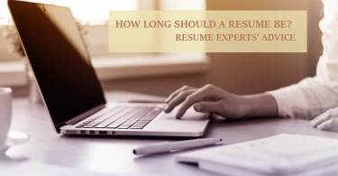how long should a resume be