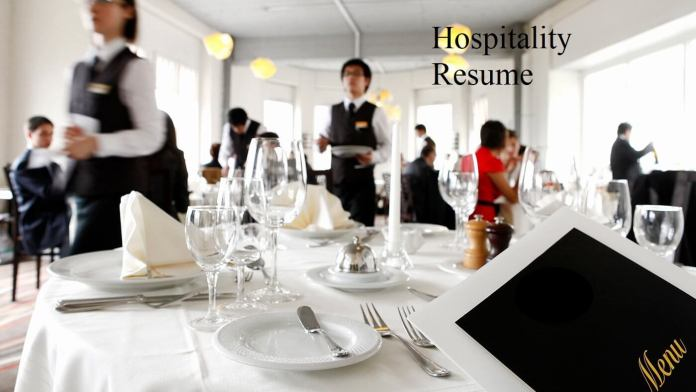 Best 10 Hospitality Resume Samples & Writing Tips, Wantcv.com