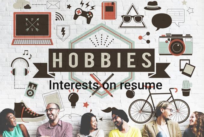 Interests on resume