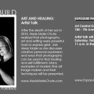 It's all about Art and Healing: Conferences, Artist Talks & Exhibition