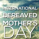 Reminder: May 4 is Bereaved Mother's Day, download your free badge of honor