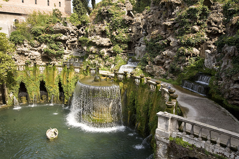Villa D Este In Tivoli Wanted In Rome