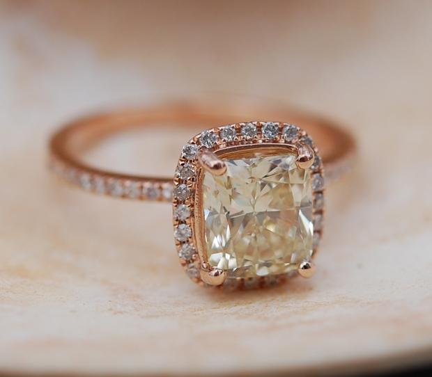 Captivating Amp Beautiful Rose Gold Engagement Rings