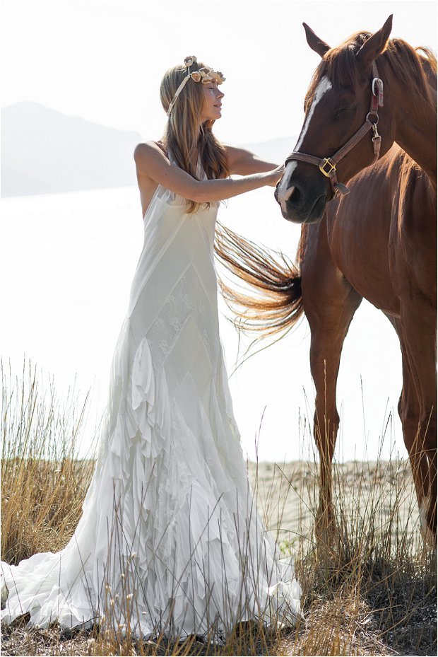 The Costarellos Bride: Romantic Chic Wedding Gowns For The Bohemian Bride