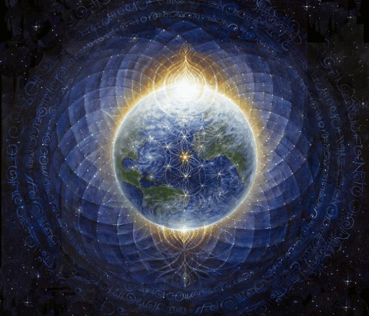 01+Earth+Matrix+-+Flower+of+Life+-+Chakra