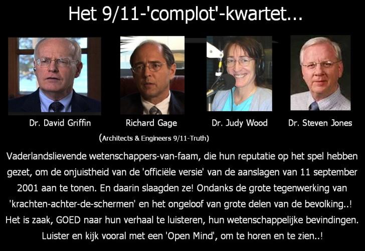 9-11 complot kwartet