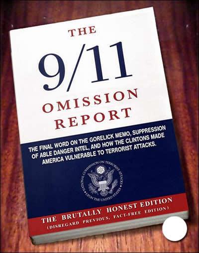 Het officiële 9/11-rapport, dat pas onder grote druk van de Amerikaanse bevolking samengesteld mocht worden, méér dan 450 dagen ná de aanslagen, is feitelijk een vodje.. Opnieuw manipulatie door het vertellen van de halve waarheid, de waarheid en leugens en het volledig weglaten van de waarheid. (zoals het weglaten van de ineenstorting van Building no. 7)