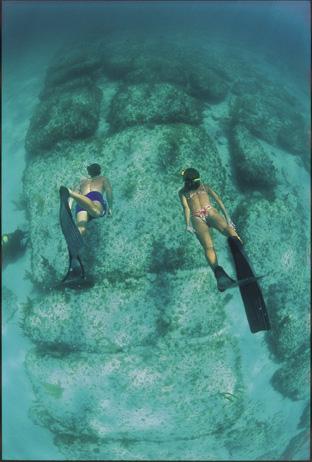 De 'Bimini road', een bijzonder overblijfsel van de tempels van Atlantis?