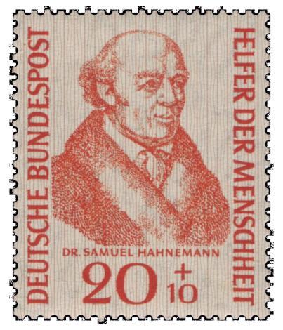Samuel Hahnemann, apotheker die de homeopathie uitvond. 200 Jaar geleden. Een held in Duitsland en de rest van de wereld. Als het aan Edith Schippers ligt, is dit dan de grootste fraudeur in de geschiedenis...?