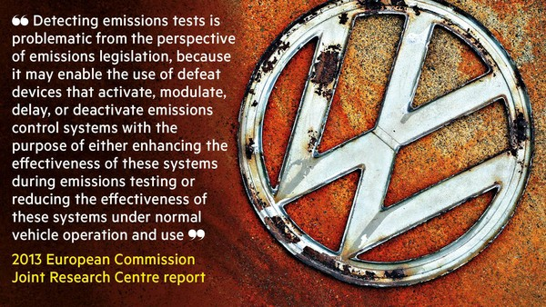 EU emission tests 2014