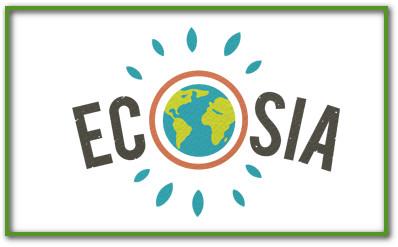 Ecosia logo zoekmachine