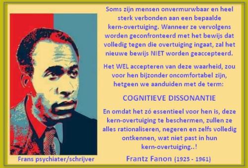 Fanon cognitieve dissonantie