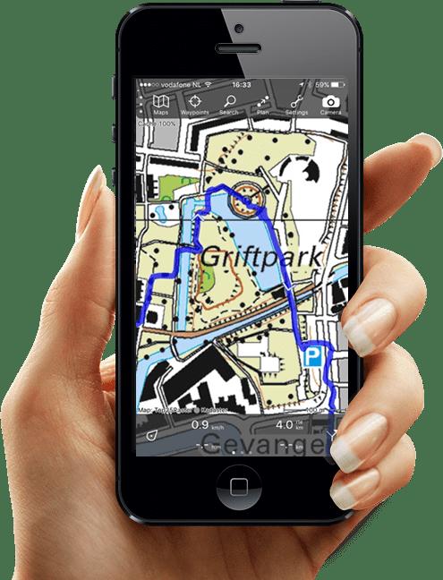 GPS smartphone