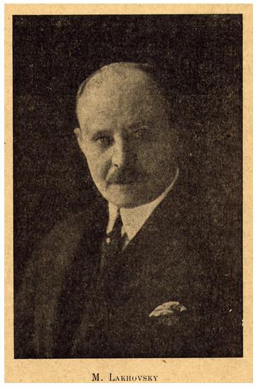 George Lakhovsky, de uitvinder van de multi-wave-oscillator
