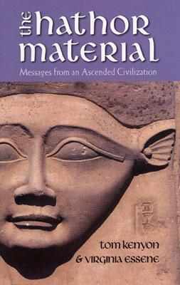 De cover van het boek over de Hathors, dat Tom schreef met Virginia Essene