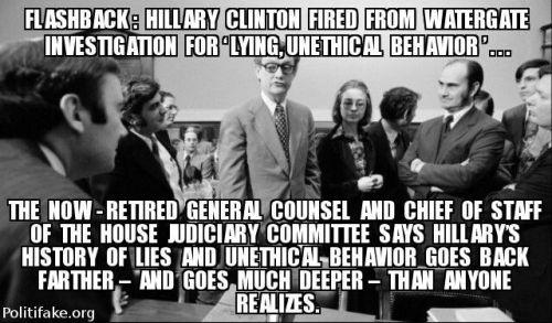Hillary Watergate Jeffrey Zeifman