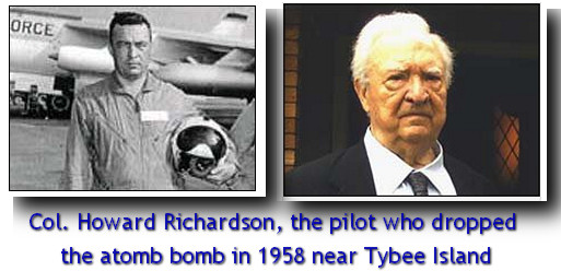 Howard Richardson atombomb Tybee Island