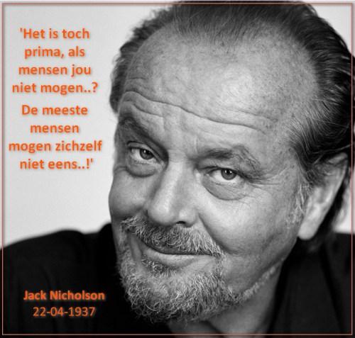 Jack Nicholson jezelf mogen