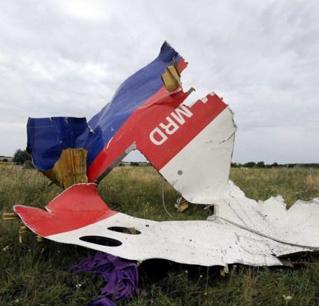 MH17 crash wrakstuk
