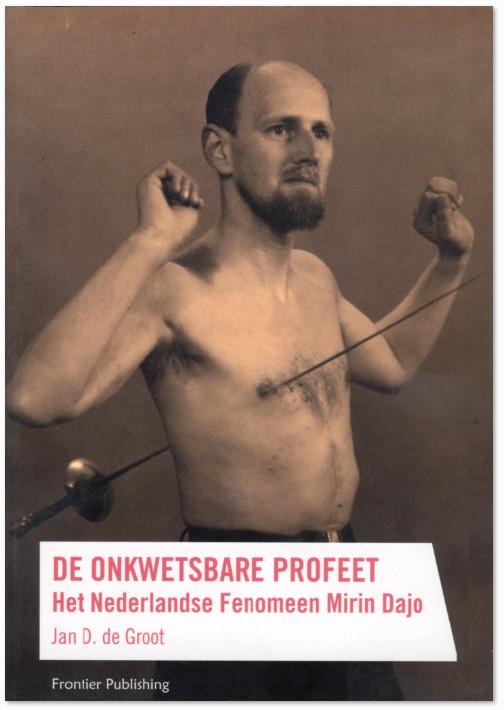De oorspronkelijke cover van het boek dat wordt uitgegeven door Frontier Publishing in Amsterdam