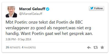 Marcel Glauf is hoofdredacteur van het NOS-journaal en reageerde direct op de publicatie van GeenStijl, waarin ze de vloer aanveegden met de journaal-redactie.