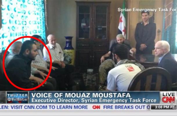 McCain en Elliot Shimon aka Al-Baghdadi in Syrie 2