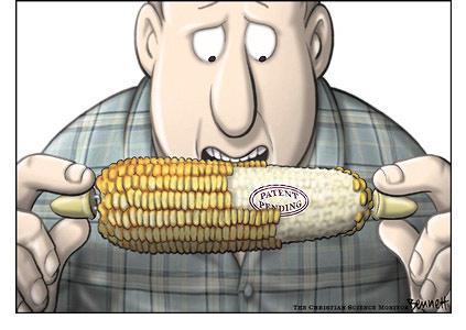 Bittere humor, maar de kern van de zaak: Hoe kun je 'eigenaar' zijn van 'voedselzaden'..? Het lijkt het enige doel van Monsanto, ondanks allerlei mooie, maar loze verhaaltjes. De onschadelijkheid van GMO is daarbij ook nog NOOIT bewezen!