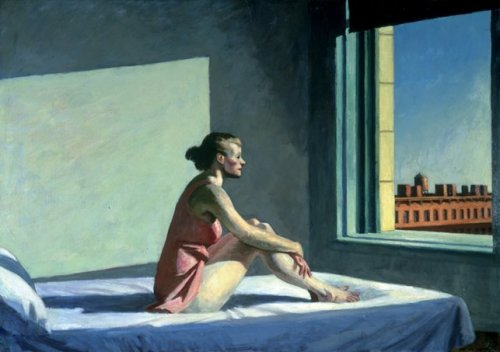 'Morning Sun' - Edward Hopper (1952)