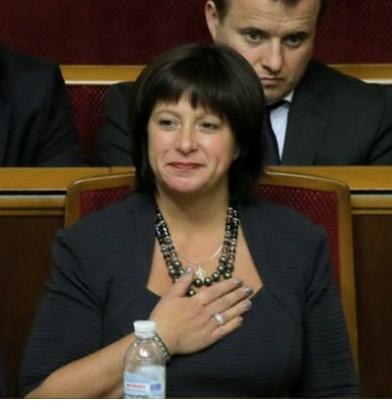 Natalia Jaresko minister van financien Oekraine