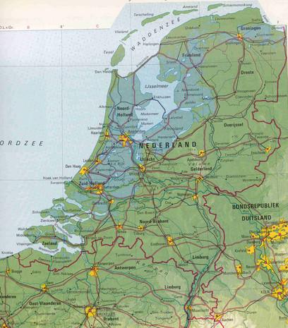Het land waar je woont.. Het bestond al ruim vóór het Koninkrijk en ook de rode lijn is kunstmatig.. Dat je het weer even scherp op het netvlies hebt..!