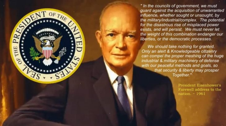 President-Eisenhower_s-Message-Of-The-Military-Industrial-Complex