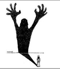 Hoe maak je van een persoon een spook? Gewoon een kwestie van op de juiste manier 'belichten'....!