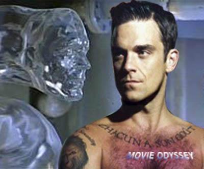 Robbie Williams heeft zijn carriére stopgezet om het UFO-fenomeen te onderzoeken. Hier een foto-compilatie met hem uit de film 'The Abyss'.