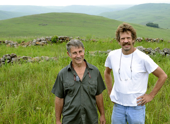 Robert met Johan Heine2
