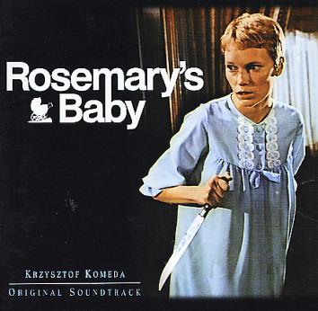 De film 'Rosemary's Baby' is gebaseerd op het ritueel gebruik van de baby van Rosemary, gespeeld door Mia Farrow. (1968)