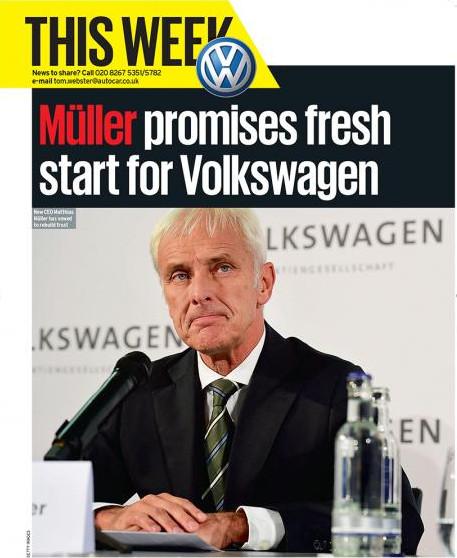 Tot hoever zit deze voorzitter van de Raad van Bestuur van Volkswagen in de lobby rondom EU-emissie-toelatingseisen en -handhaving..??