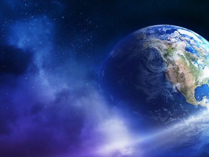aarde vanuit ruimte