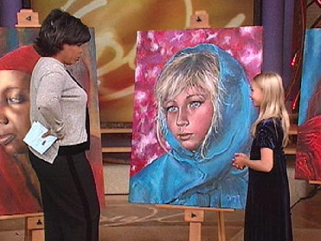 Een van de vele Indigo-kinderen van de laatste decennia. De kleine Akiane had nooit schilderles maar schilderde vanaf klein kind. (klik voor artikel)