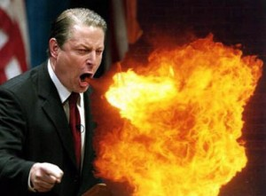 Te gepeperde uitspraken van Al Gore?