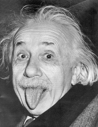 Albert Einstein: diepere weten-schap.. 'God dobbelt niet!' is één van zijn uitspraken.