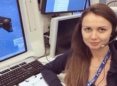 vluchtverkeersleider Anna Petrenko