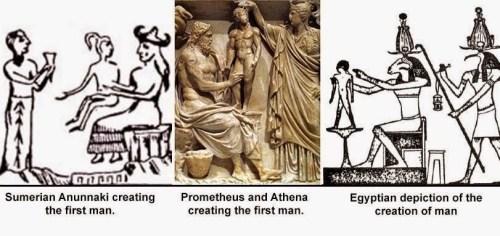 anunnaki creating man