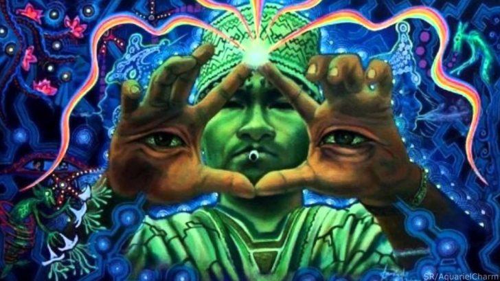 Ayahuasca-sessies stellen de ZIel van een mens in staat, de energetische essentie van de materiële wereld te bekijken..