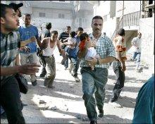 Menselijk drama in Gaza