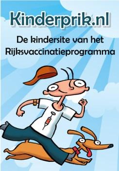 Een gezellige, sfeervolle banner van het rijksvaccinatieprogramma.