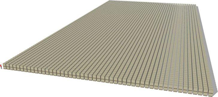1 Biljoen, eh Trillion, eh papier hier, eh....