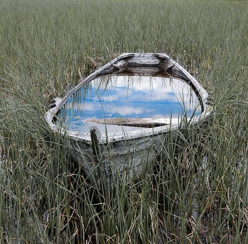 boat water grass