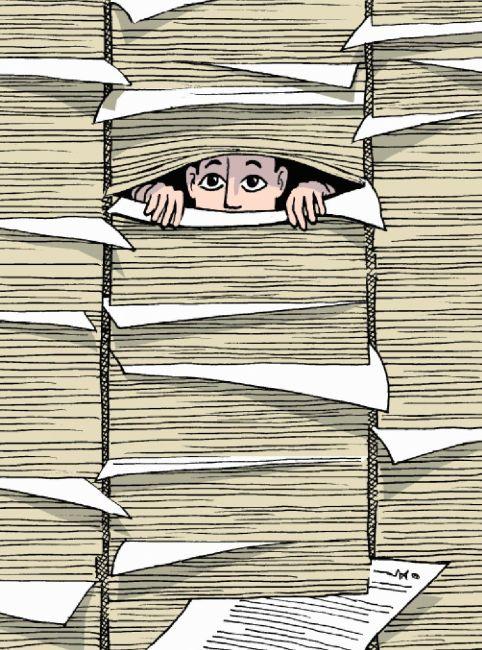 bureaucratie lang